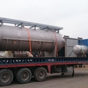Vertical Vessel V-251, Decoking Drum, I.D:2800mm, Design Temp:4000C,ASME VIII Div.1 & PED 97/23
