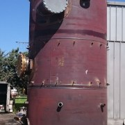 Pressure vessels made by stainless steel for Delimara LNG Regasification Terminal in Malta